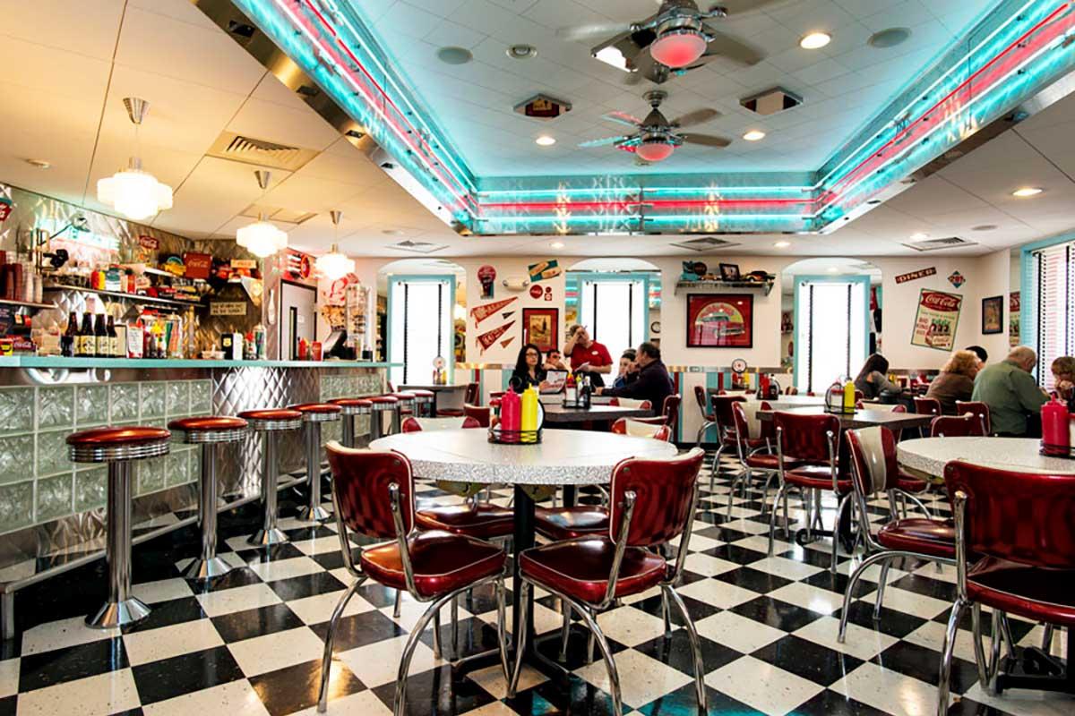 American Diner 1950er