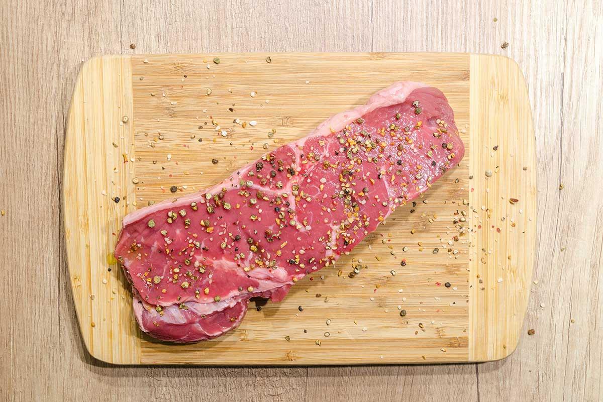 Steak pfeffern