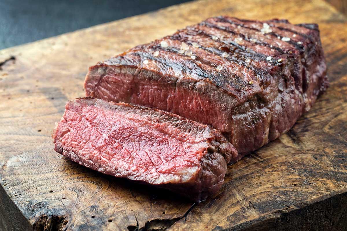 Steak rare (englisch)