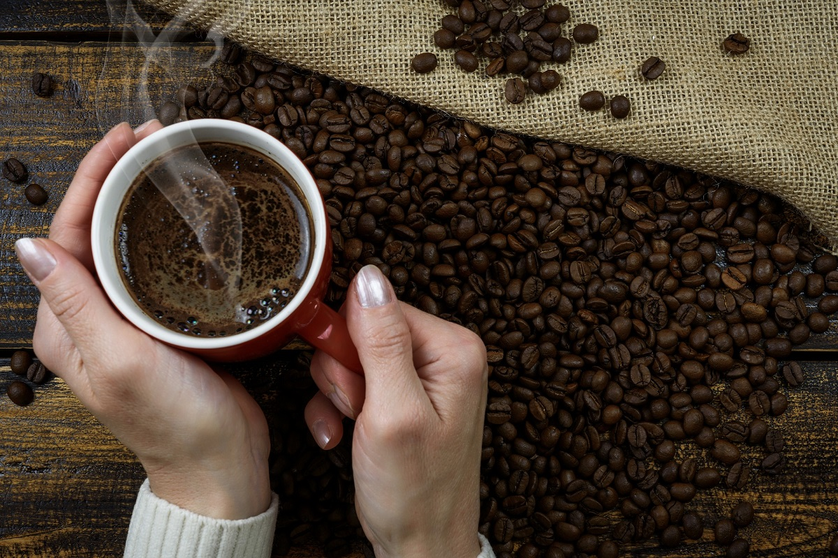 Kaffee Röstung